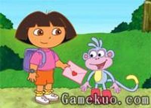 Dora找回情書 - 小遊戲谷