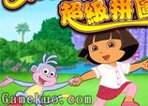 Dora拼圖大全 - 小遊戲谷