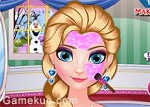 艾莎美容化妝 - 小遊戲谷