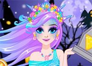 艾爾莎美人魚化妝 - 小遊戲谷