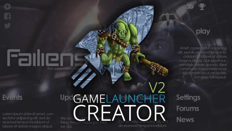 Game Launcher Creator V2