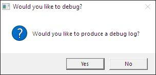 Debug the game patcher