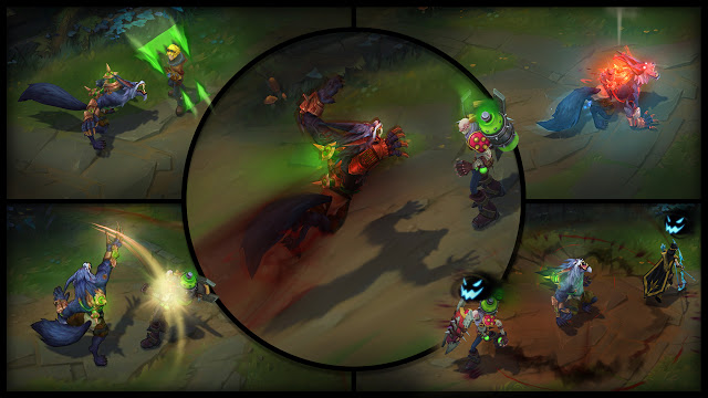 League of Legends warwick - League of Legends - PBE 10/01 - Rework Warwick, Novas Skins, Nerfs em Darius, Katarina, Yasuo