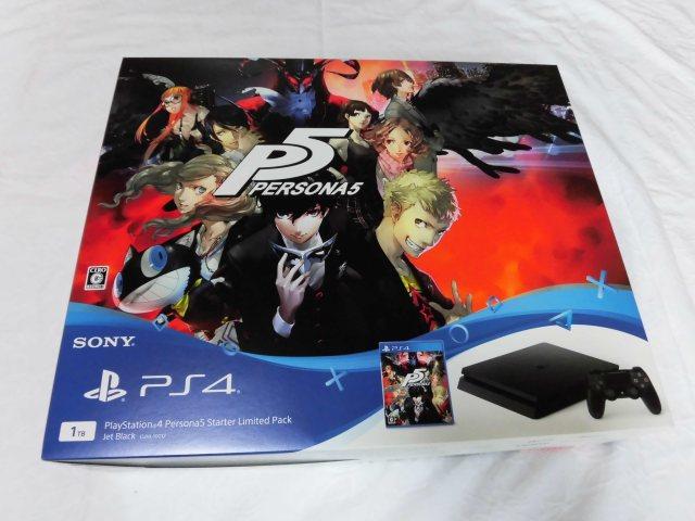 PS4 新型 スリム ペルソナ5 スターターリミテッドパック