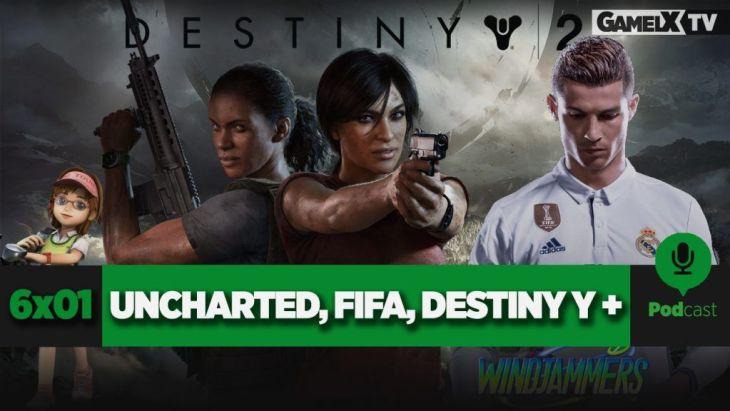 FIFA 18, Uncharted, Destiny 2