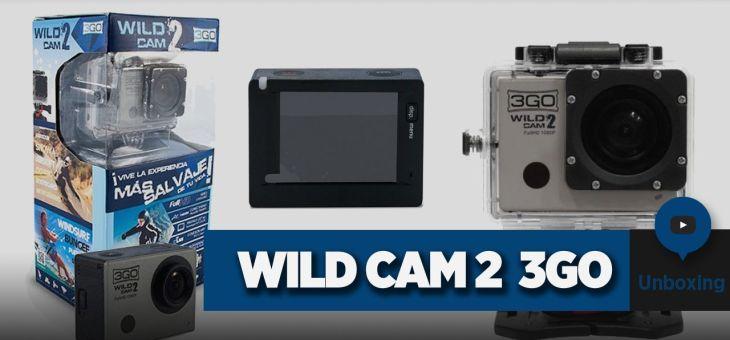 Cámara deportiva Wildcam 2 de 3GO   Unboxing
