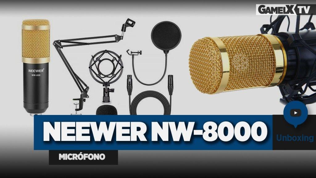 unboxing micrófono neewer nw-8000
