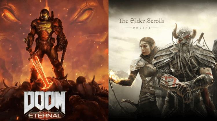 Doom Eternal y The Elder Scroll