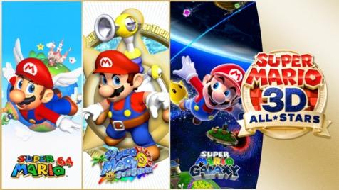 Todas las novedades de Super Mario 3D All Stars que traerá a Super Mario 64, Super Mario Sunshine y Super Mario Galaxy disponible hasta el 31 de Marzo.