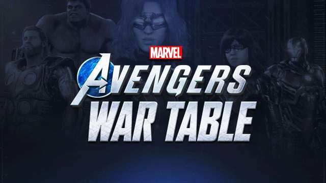 war table de marvel's avengers