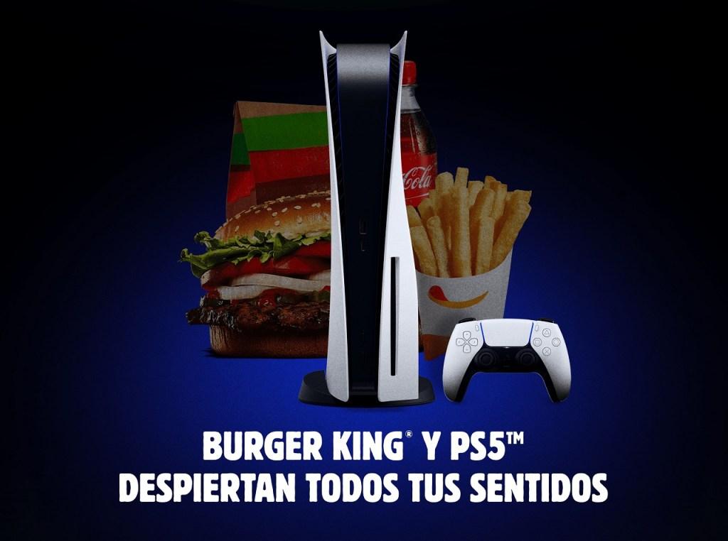 Burger King España y Sony Interactive Entertainment España vuelven a colaborar.