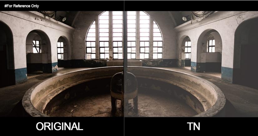 original vs tn