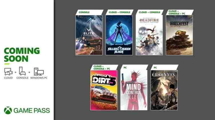 Xbox Game Pass Febrero