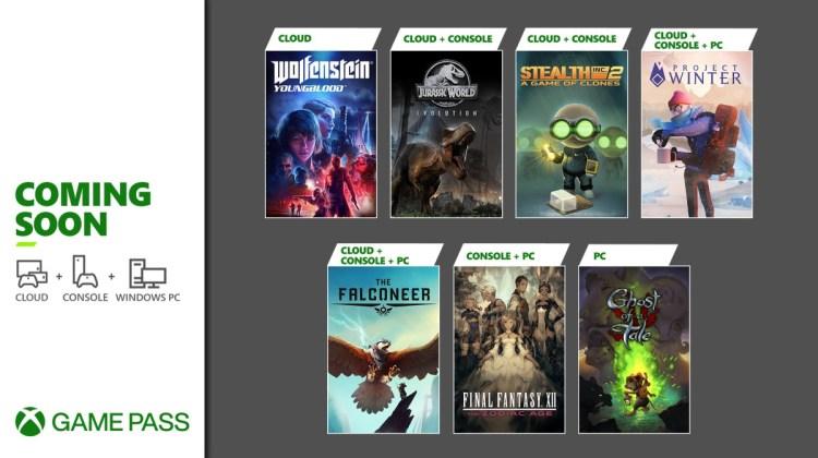 Proximamente en Xbox Game Pass