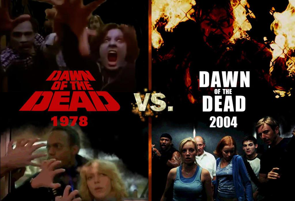 Dawn of the Dead 1978 vs 2004