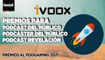 ivoox apoya 3 categorías en los Premios al Podgaming 2021