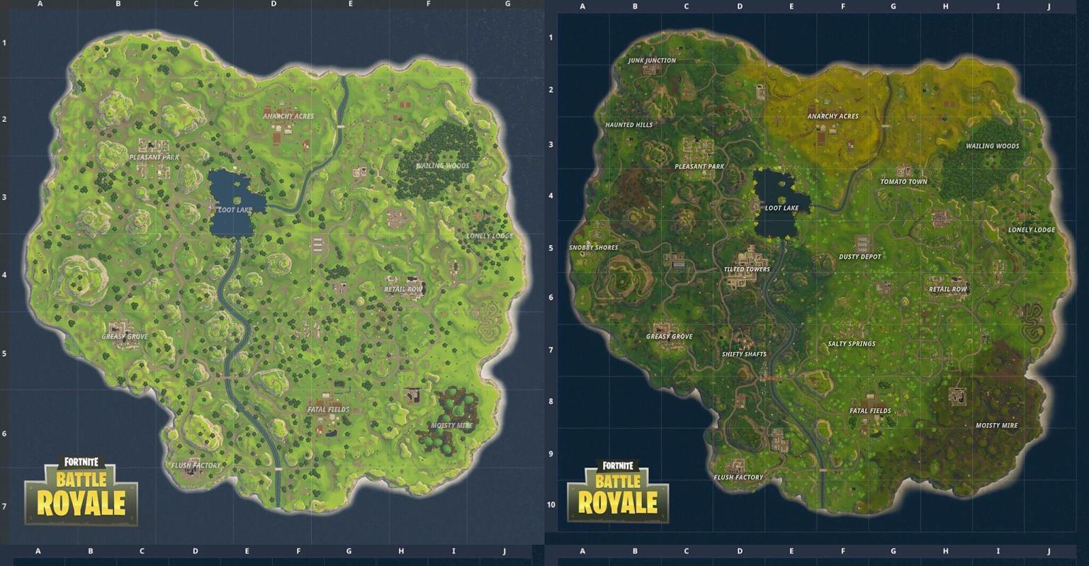 Обновлённая карта Fortnite: где искать подземные тоннели и другие новые локации?