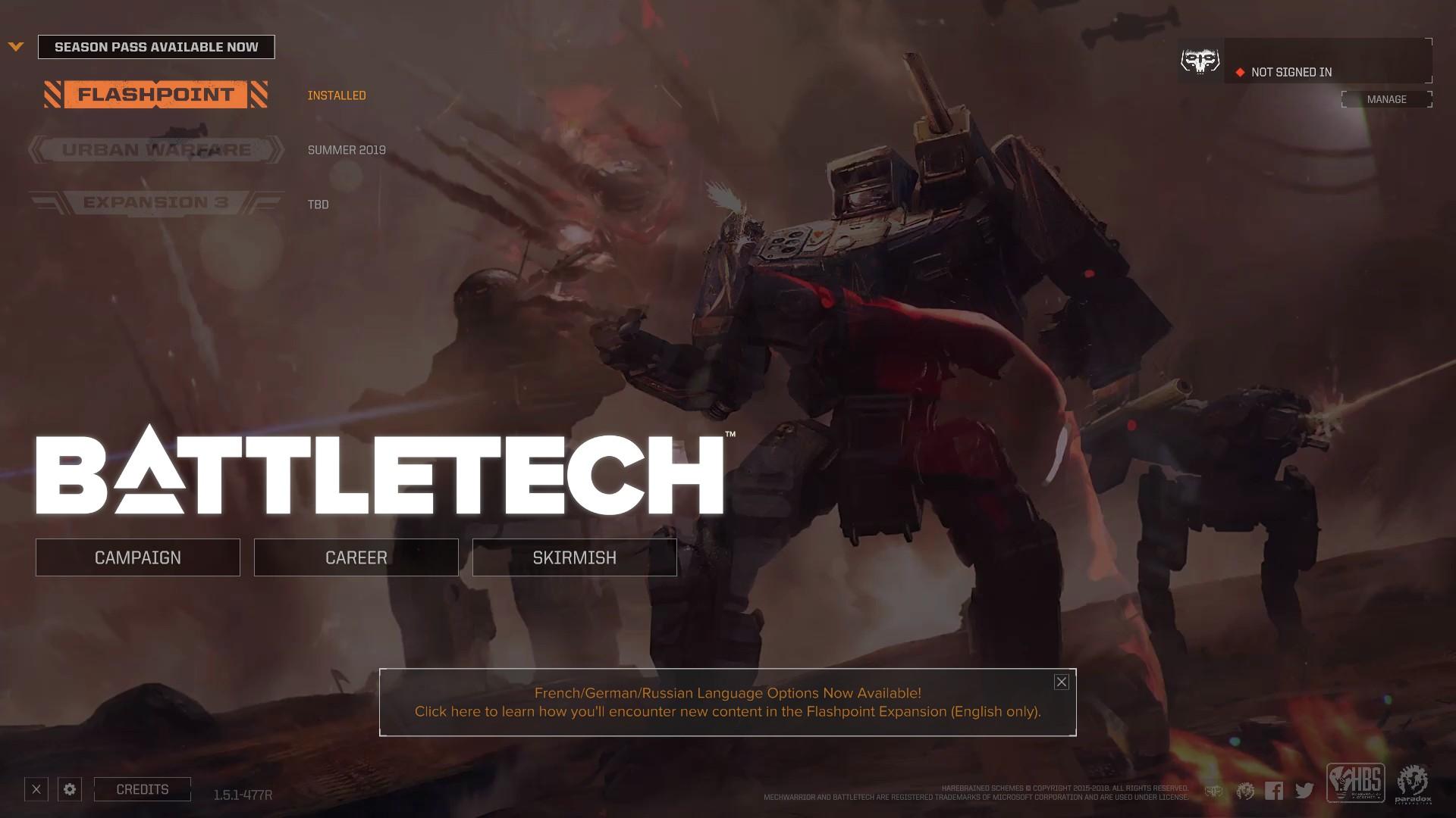 Battletech…