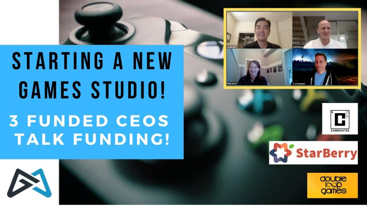 Starting a New Game Studio | 3 CEOs Who Raised Millions!