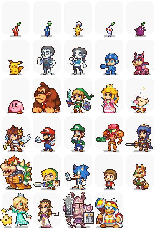 Art Insipiration 7 More Pixel Art Game Maker Stuff