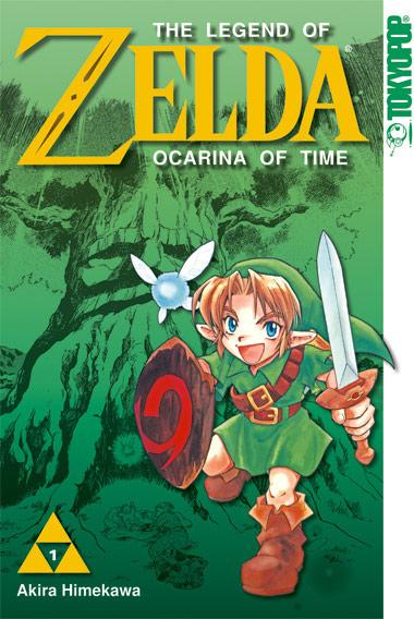 Zelda Ocarina of Time - Manga