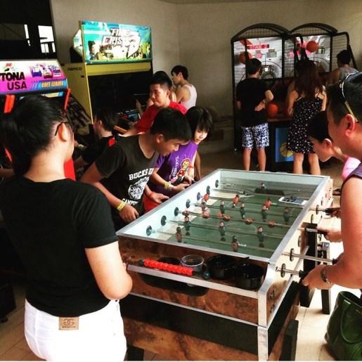 Soccer Table Rental Singapore