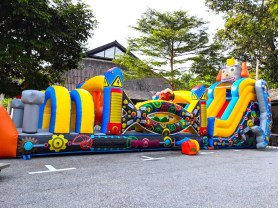 Inflatable Robot Obstacle Rental