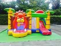 Lion Kingdom Bouncing Castle for Rent