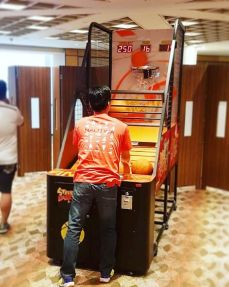 Arcade Rental Basketball Machine