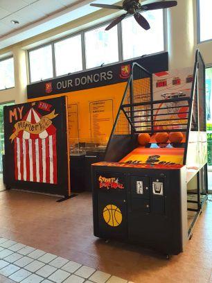 Arcade Basketball Machine for Rent