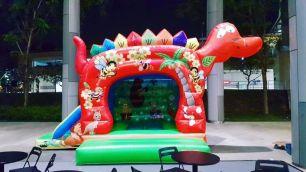dinosaur bouncy castle rental Singapore