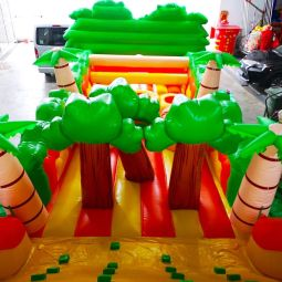 Safari Inflatable Obstacle Rental Singapore