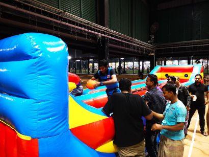 Inflatable Bungee Basketball