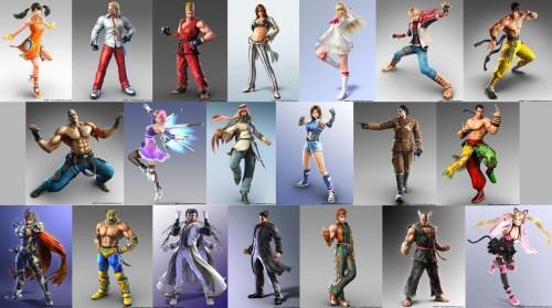 Список всех персонажей в TEKKEN 7