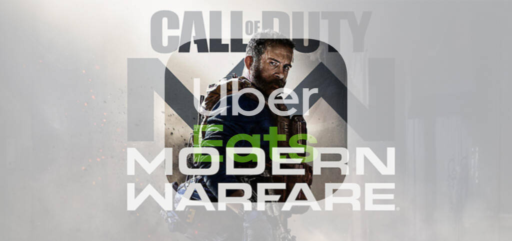 CALL OF DUTY: MODERN WARFARE – UBER EATS I ACTIVISION ŁĄCZĄ SIŁY