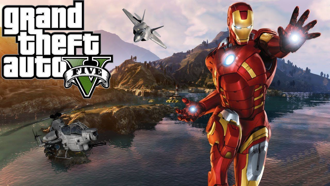 GTA V New Iron Man Mod V2 Is Available For Download Game News Plus