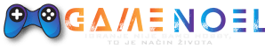 GameNOEL Logo sa sloganom
