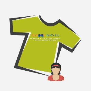 Ženske majice s GameNOEL logom