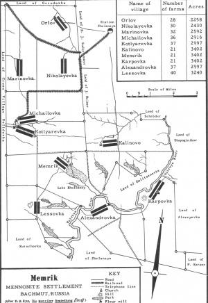 Memrik Mennonite Settlement (Dnipropetrovsk Oblast