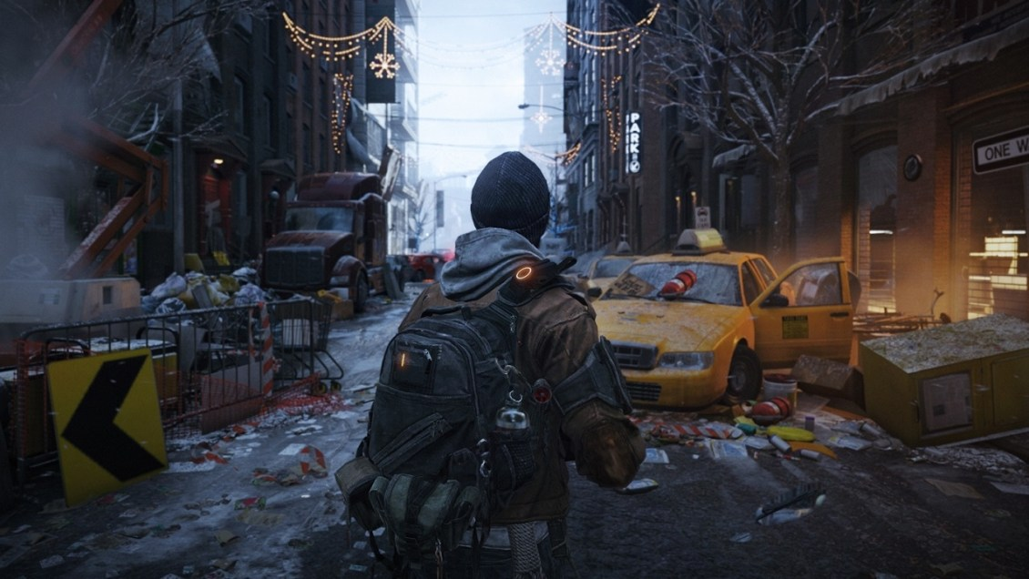 Tom Clancy's The Division. Releases on March 8th.