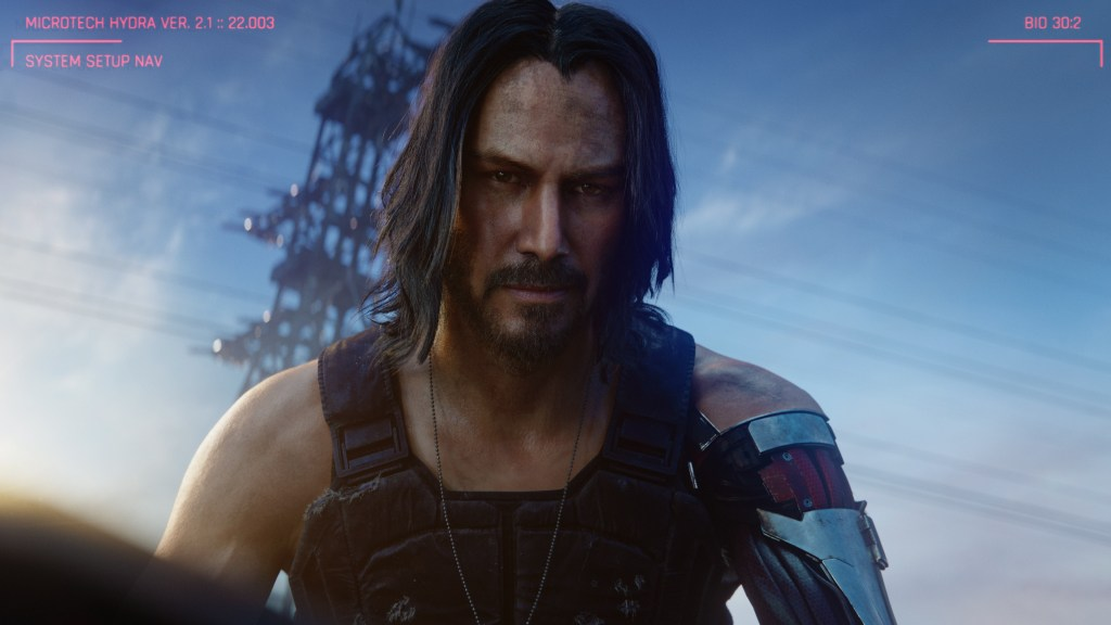 Cyberpunk 2077 Keanu Reeves as Johnny Silverhand