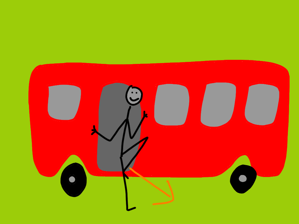 get off transport game
