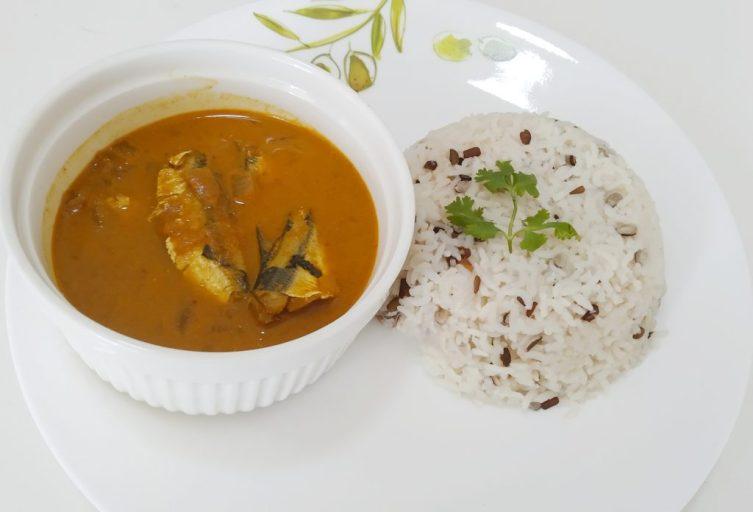 High protein vegetarian black gram rice