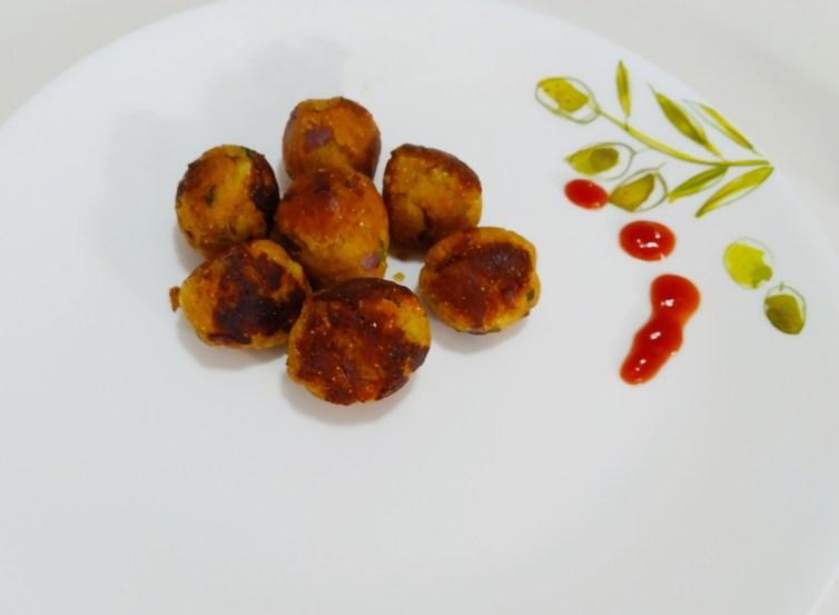 Crispy snack-Paneer balls-after school kids snack
