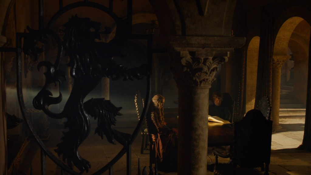 """Game of Thrones S03E05 """"Kissed by Fire"""""""