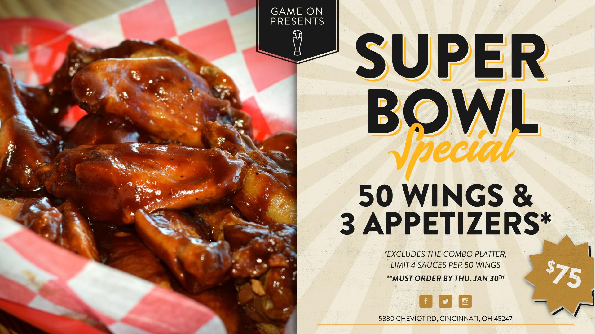 Super Bowl Special!