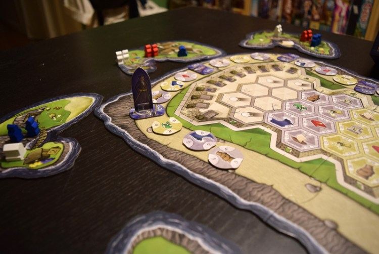 The Guard acts as a round timer and sets the relative point value for sanctifying tiles.