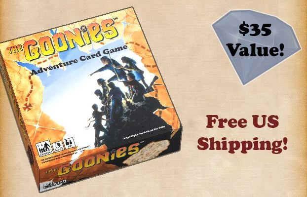 The Goonies Adventure Card Game Kickstarter Preview | Gameosity