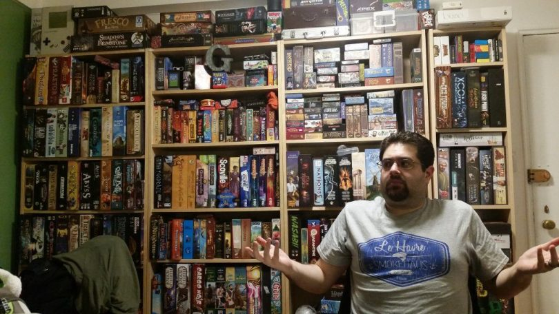In Nash's defense, Andrew's apartment is more a  game shrine and archive than living space these days.