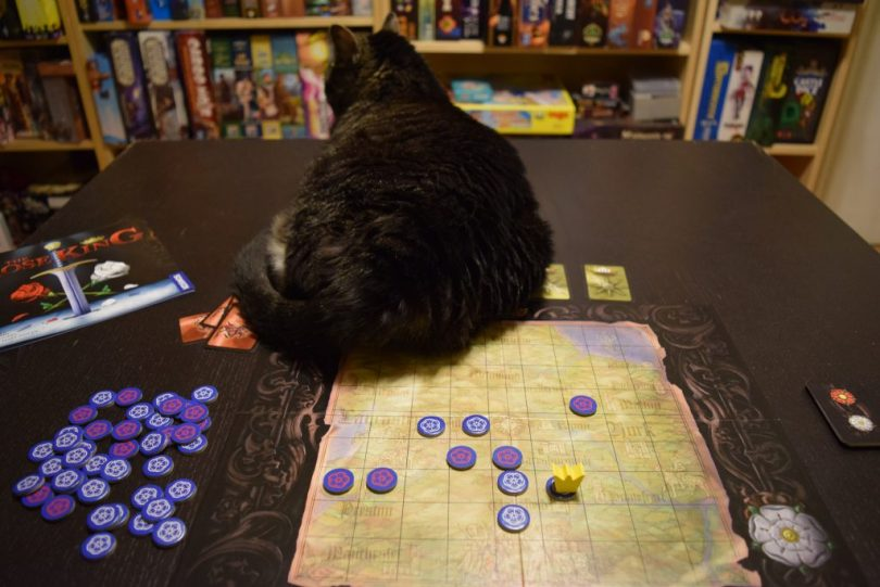 This is a historically accurate depiction of how the real War of the Roses ended. Cat butt.